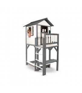 Cabin stilts Cabin XL Grise