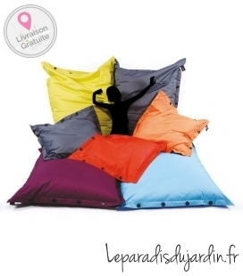 Poof cushion square 100 x 100