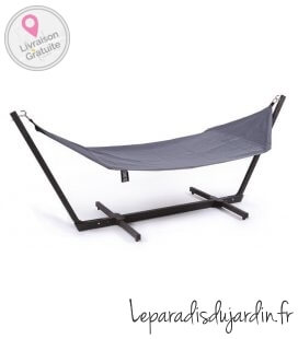 complete Hammock and shelto stand anthracite red green