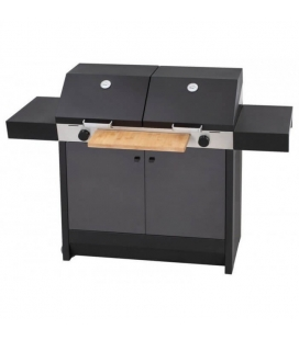 Braimaxx luxury barbecue with two gas burners for your outdoor kitchen