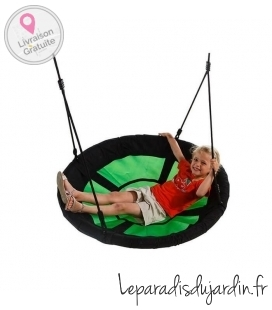 axi swing set swibee nest round shape green or blue