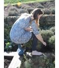 tabouret entretien jardin Oneleg 32 cm