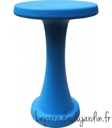stool Oneleg 40 cm black orange green lime blue