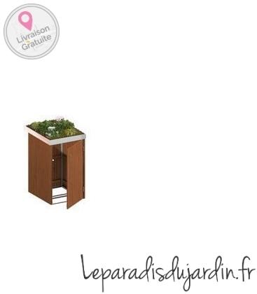 Binto - Habillage en bois dur plateau à plantes 1 à 4 box