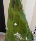Gnome de Noel Snorri 53 cm, lutin de jardin et d'intérieur en résine effet bois brut de haute qualité esprit de noel