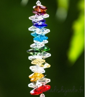 Chakra Lola crystal garden ornament of superior quality