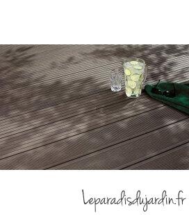 lames de terrasse Bois composite dreamdeck classic anthracite mokka gris ou chocolat