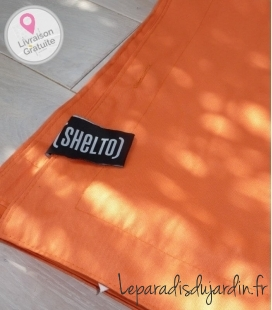 Cover pouch pouf special pool 125 X 175 orange cover only