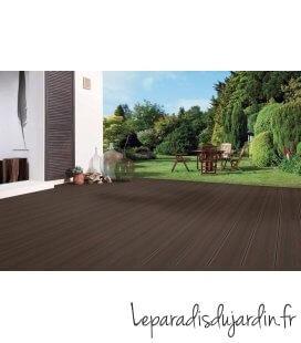 lame de terrasse Bois composite dreamdeck platinium brun