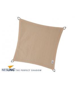 Toile d'ombre 5m Densité 280Gr couleur crème