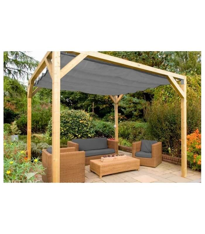 pergola bois douglas murale compl te nesling. Black Bedroom Furniture Sets. Home Design Ideas