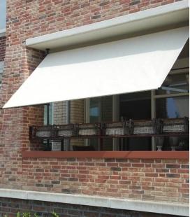 Structure Store Balcon acier sans perçage a combiner avec le meilleur tissu contre la chaleur coolfit de Nesling