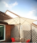 Paraflo Parafol Paraflex WallFlex by umbrosa the most versatile and solid umbrella on the market