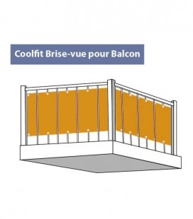 View screen Coolfit 285gr hdpe Nesling 80x500cm, windbreak canisse