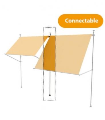accessoire de couplage pour store balcon nesling. Black Bedroom Furniture Sets. Home Design Ideas
