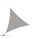 Voile d'ombrage triangle imperméable dreamsail Nesling 5m densité 220Gr coloris gris