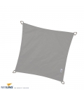Nesling waterproof square shade sail gray color 5m density 220Gr