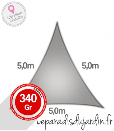 Voile Triangle 5m Commerciale