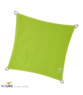 Voile d'ombrage 3,6m carré Densité 285Gr Nesling coloris vert citron