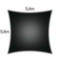 Coolaroo Premium 5.4m carré ( fin de série )