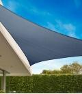 Coolaroo Everyday 3,6m triangle equilatéral 205gr/m² anneau 5mm coloris ardoise - slate