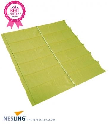 Store bateau Pergola Nesling complet HDPE polyéthylène tressé 285 grames coloris citron vert- lemon lime