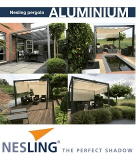 Free-standing aluminum pergola complete with hdpe boat awning coolfit nesling new for 2018