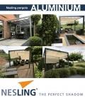 Full freestanding aluminum pergola
