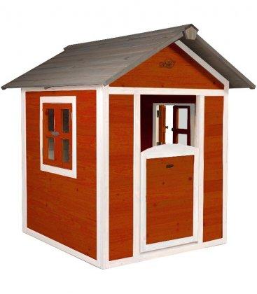 Cabane enfant Lodge axi fsc rouge scandinave
