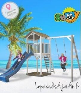 Tour de plage enfant plus balançoire