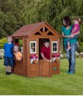 Cabane Enfant Timberlake backyard cedre tropical non traité avec accessoire