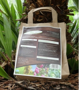 Very powerful organic fertilizer probioterre bag 1kg with patent for root development