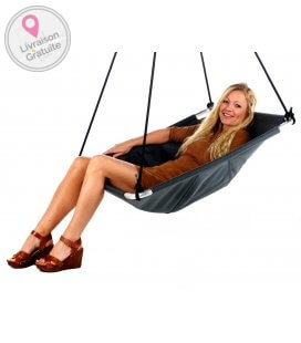 Outdoor swing made by Purple Frog named Balance Color Black second position