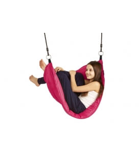 Comfortable and quality Moonboat swing - Purple Frog