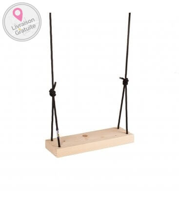 Young Ones recycled wood swing - Purple Frog