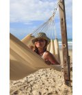 Kocon hammock without wooden bar jobek ecru