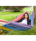 Kocon hammock without wooden bar jobek color rainbow rainbow