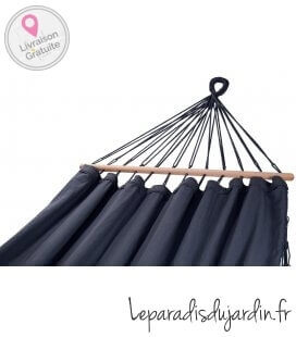 Large comfortable large hammock named Graphik by jobek color anthracite with bangs