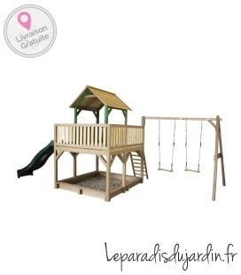 Atka Play Tower (incl. double swing)