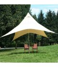 Voile Nomade Pyramide 4x4 m