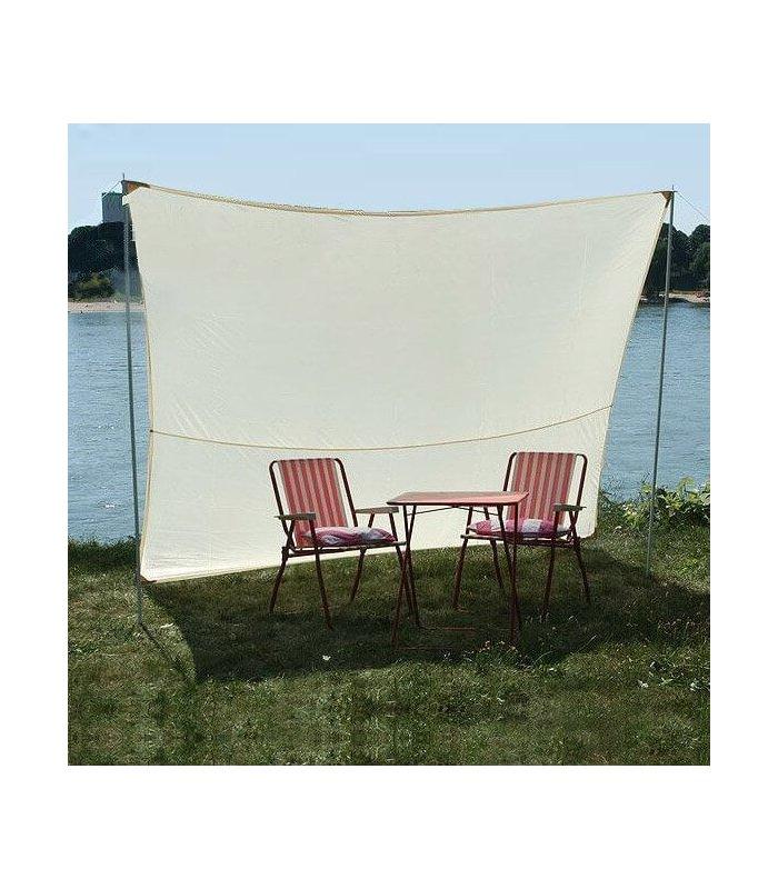 voile d 39 ombrage neocord rectangle nomade imperm abilis. Black Bedroom Furniture Sets. Home Design Ideas