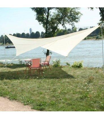 Nomadic square sail 4 x 4 m waterproof