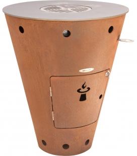 Brasero-Barbecue conique Caesar