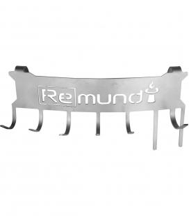 Curved support for remundi stainless steel utensil