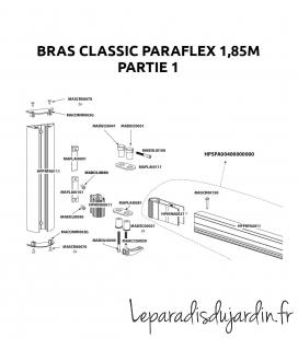 Pièces de rechange - Bras Paraflex Classic