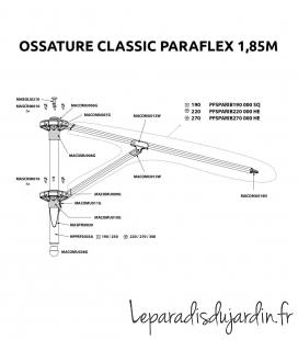 Spare parts - Paraflex Classic