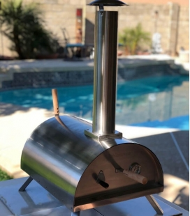 Dada R Rotary Stainless Steel Pizza Oven