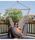 Chaise à pendre TRANKIL hamac jobek heol coloris Anthracite-taupe