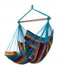 Chaise à pendre KONFORT XXL hamac naturel heol Jobek multicolore