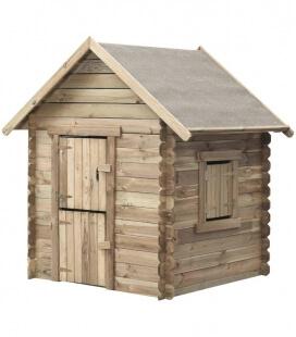 Maisonnette de jeux en bois pour enfant louise
